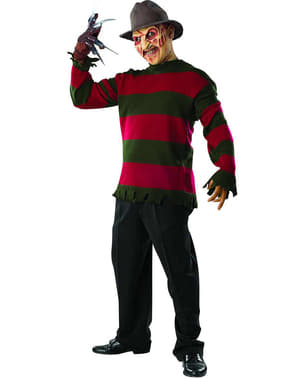 Deluxe Freddy Krueger costume for a man