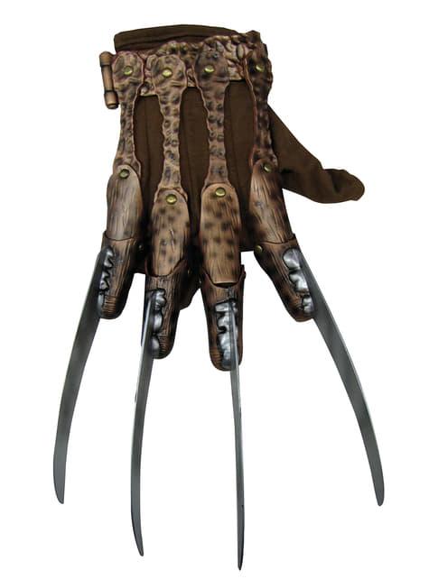 Luva Freddy Krueger deluxe para adulto