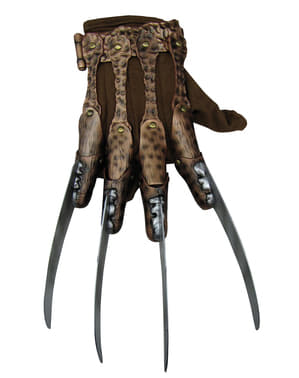 Freddy Krueger deluxe glove for an adult