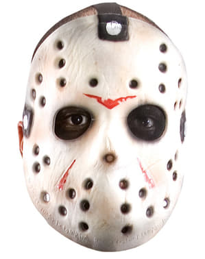 Jason Horror Maschera con Machete venerdì 13 Halloween killer Assassino Costume