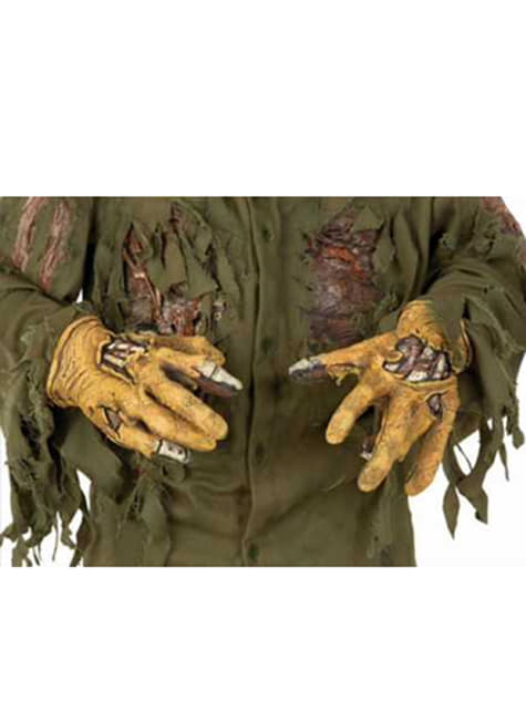 Jason Friday the 13th latex deluxe hands for an adult