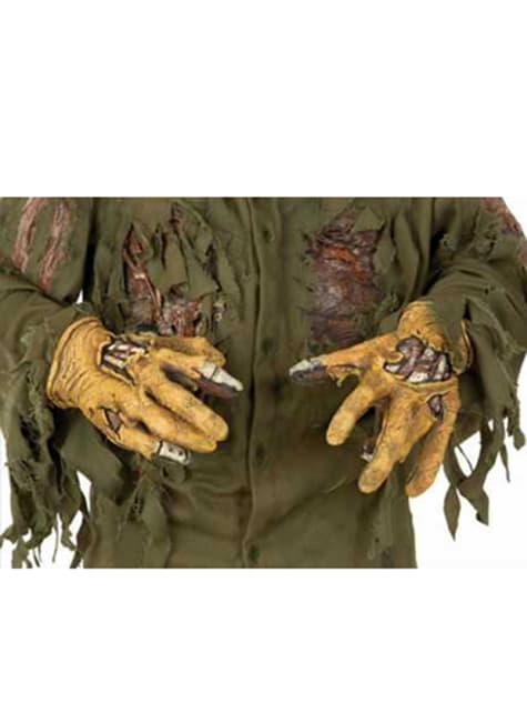 Mãos Jason Sexta-feira 13 em látex deluxe para adulto
