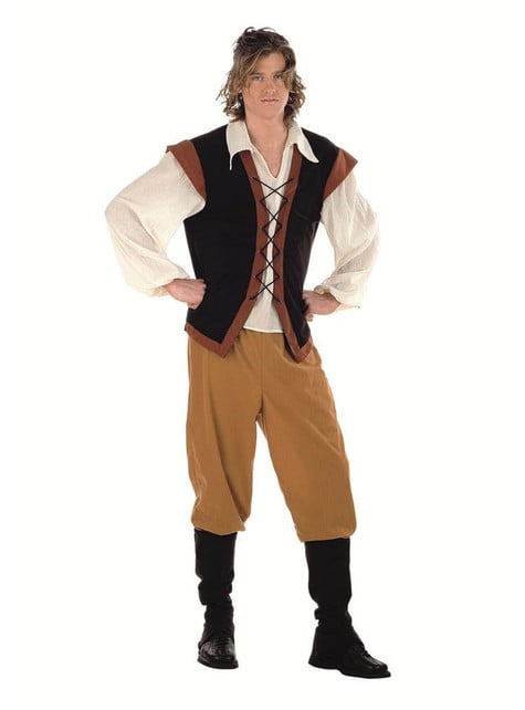 Pánsky kostým stredoveký sedliak