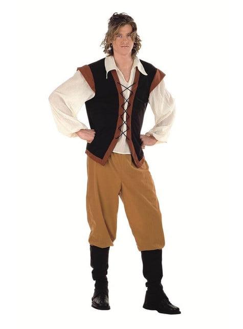 Srednjovjekovna seljačka muški kostim