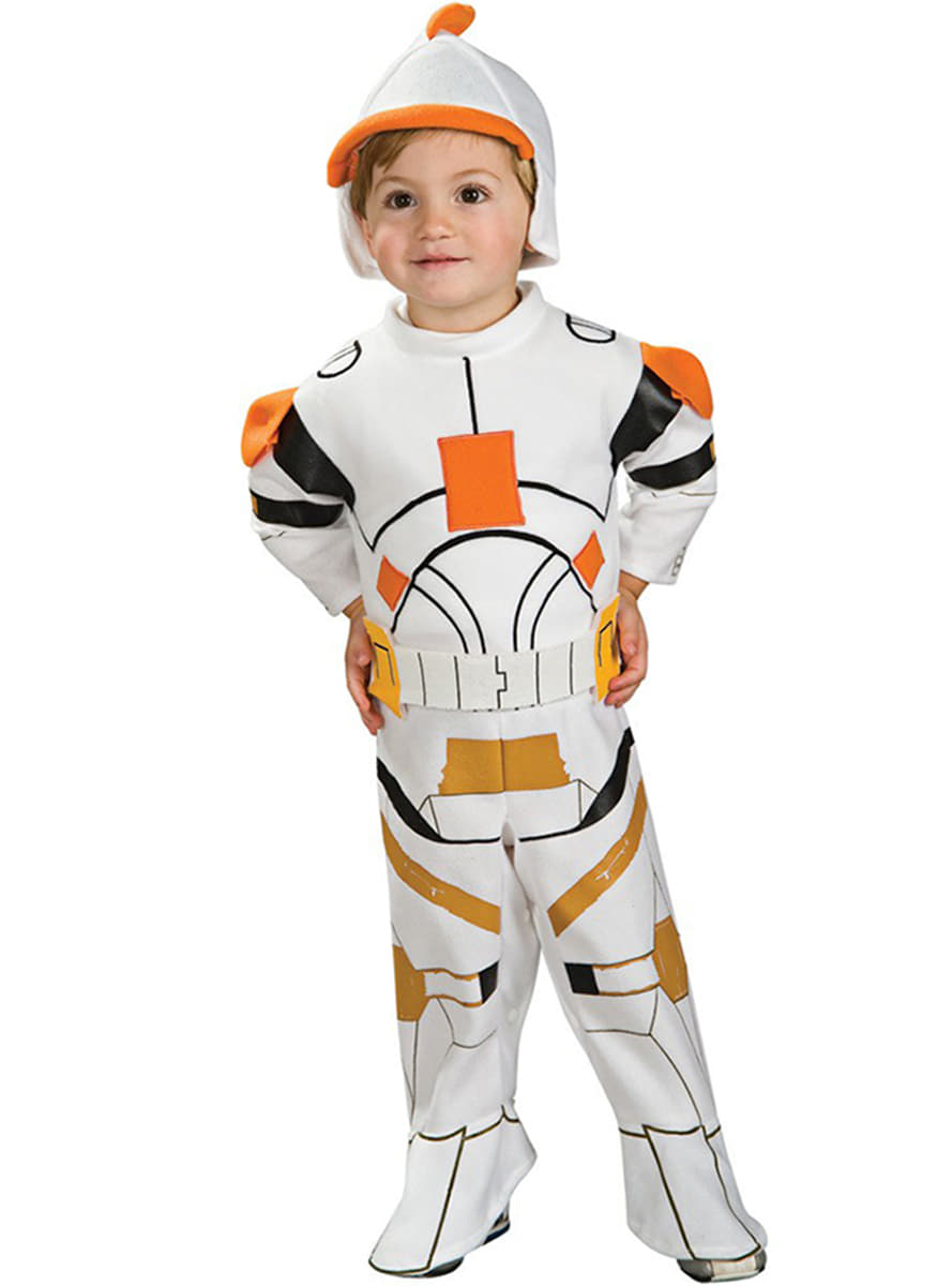 Commander cody clone trooper costume for a child