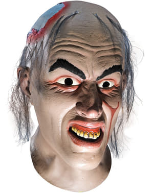 Chop Top Maske für Herren aus Latex Blutgericht in Texas