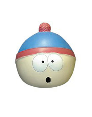 Stan South Park latex mask for an adult