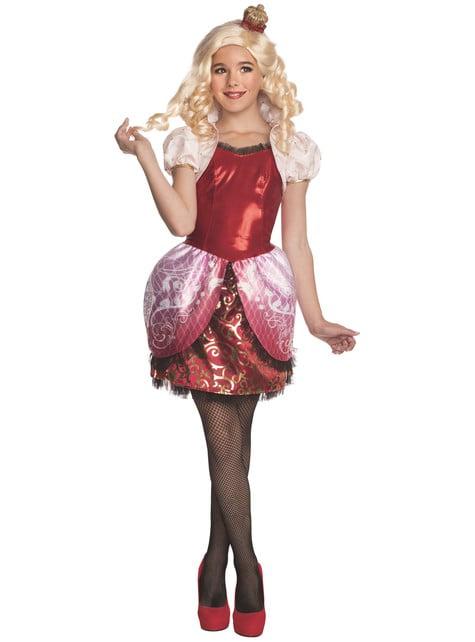 Disfraz de Apple White para niña