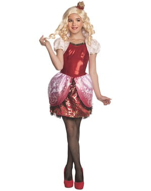 Apple White Ever After High kostyme for jente