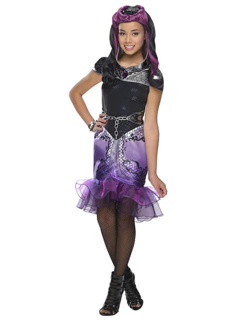 Fato de Raven Queen Ever After High para menina