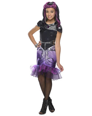 Costum Raven Queen Ever After High pentru fată