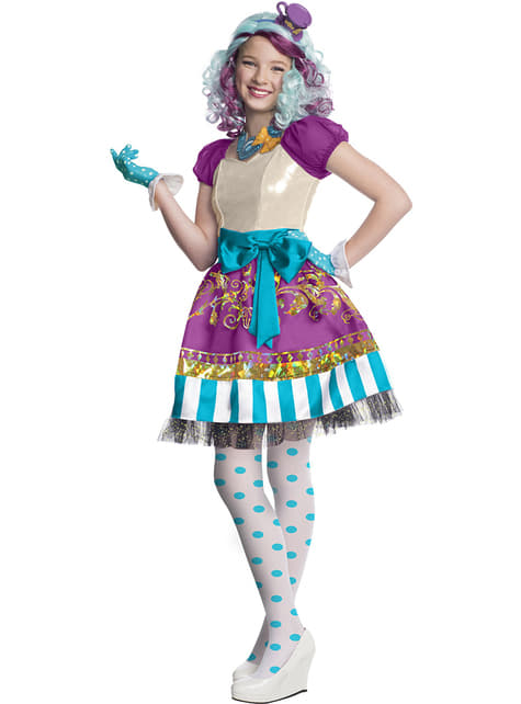 Madeline Hatter Ever After High Kostyme til Jenter