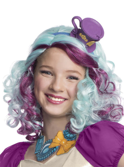 Madeline Hatter Ever After High wig for a girl