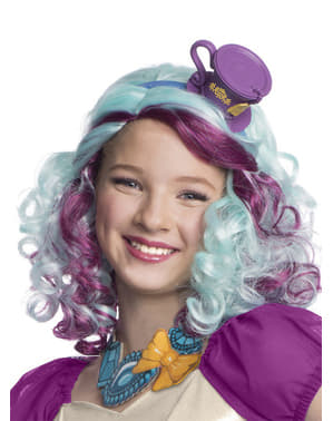 Peluca de Madeline Hatter Ever After High para niña