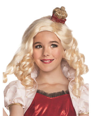 Apple White Ever After High wig for a girl