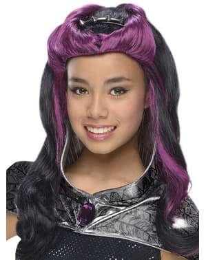 Perruque Raven Queen Ever After High fille