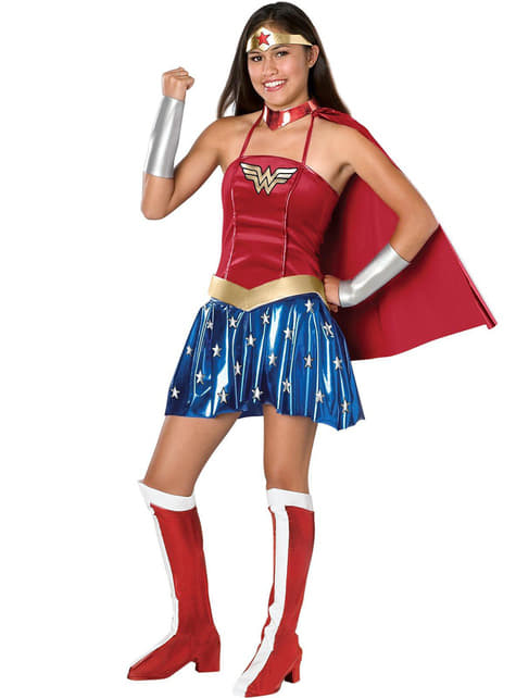 Wonder Woman costume for a teen