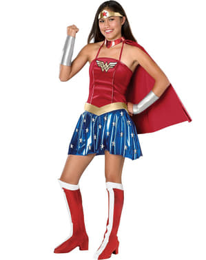 Disfraz de Wonder Woman para adolescente