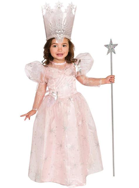 Strój Glinda Czarnoksiężnik z krainy Oz dla dzieci