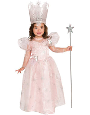 Costum Glinda Vrăjitorul din Oz pentru bebeluși