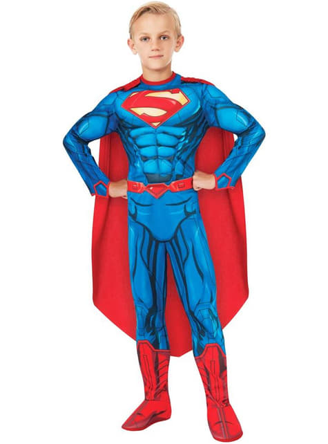 Deluxe Superman DC Comics costume for a boy