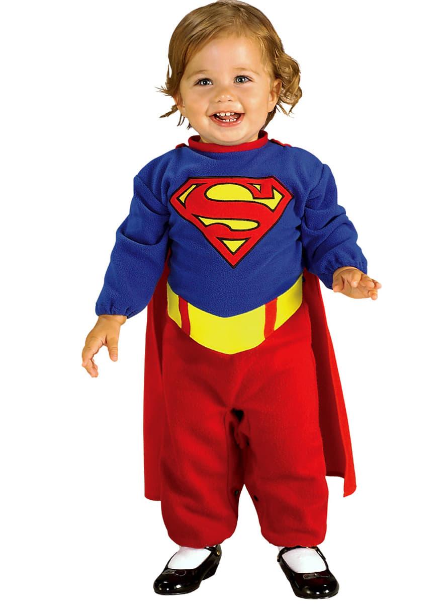 costume supergirl pour b b funidelia. Black Bedroom Furniture Sets. Home Design Ideas