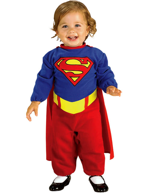 Supermannskostyme til babyer