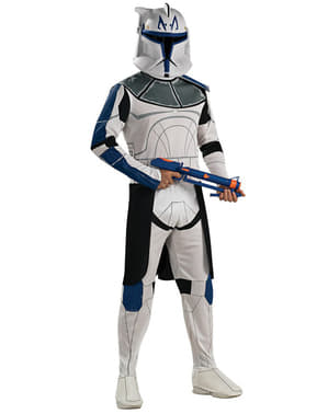 Captain Rex Clone Trooper costume for an adult