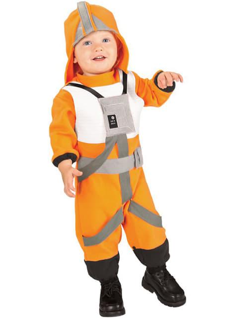 Disfraz de piloto X-Wing Star Wars para bebé