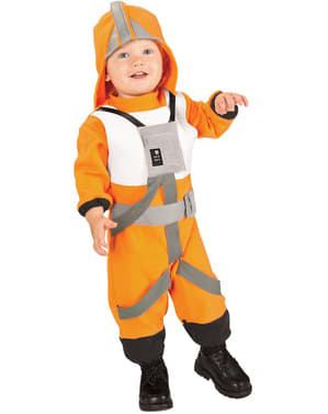 Klonkrigen X-Wing Pilot Maskeraddräkt Baby