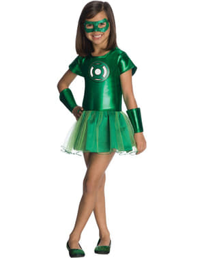 Green Lantern DC Comics tutu costume for a girl