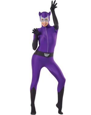 תחפושת בגד גוף Catwoman עבור אישה
