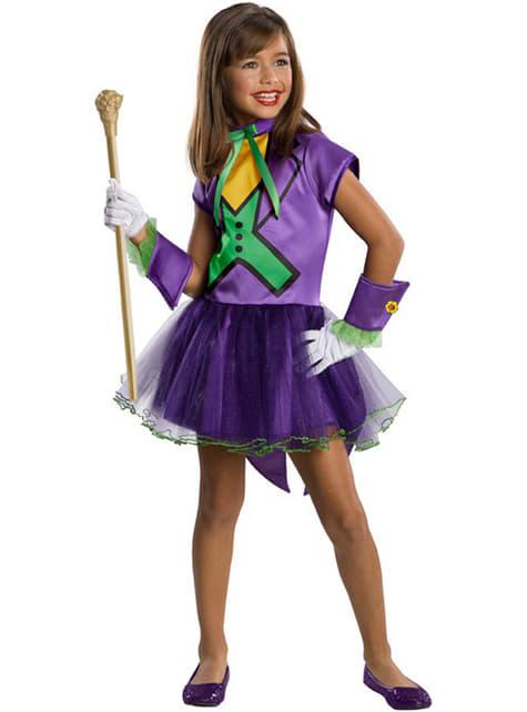 Fato de Joker tutu para menina
