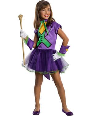 Joker Kostüm für Mädchen Tutu