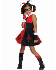 Harley Quinn tyl kostume til piger
