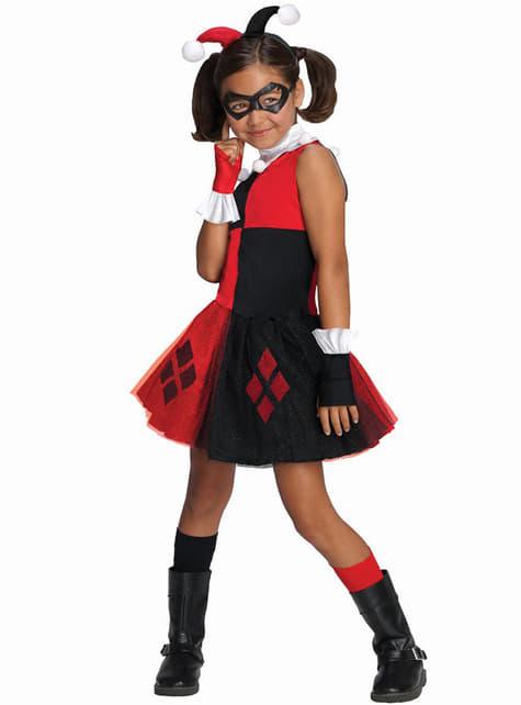 Fato de Harley Quinn tutu para menina