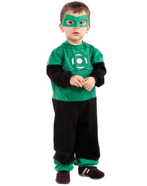 Fato de Hal Jordan Lanterna Verde para bebé