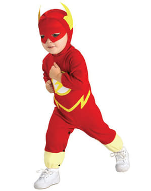 Flash costume for a child