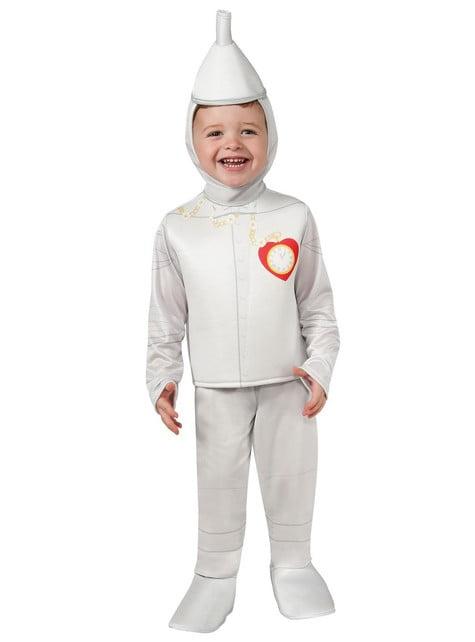Disfraz de El Hombre de Hojalata El Mago de Oz para bebé