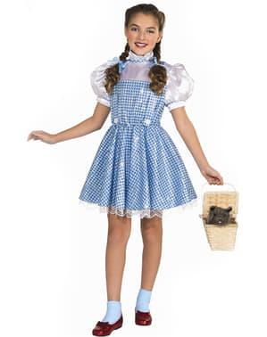 Costume da Dorothy bambina brillante deluxe