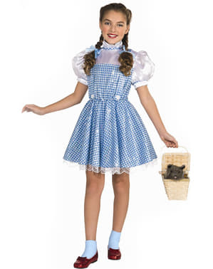 Deluxe Dorothy shining girl costume