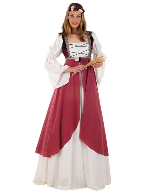 Keskiaikainen Clarissa -asu aikuisille