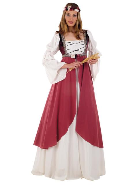 Kostým stredoveká princezná