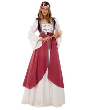 Kostým pro dospělé středověká dívka Clarissa