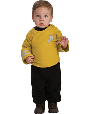 Disfraz de Capitán Kirk Star Trek para bebé