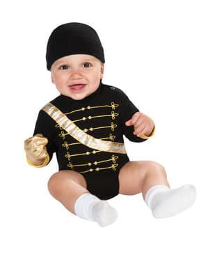 Michael Jackson Kostüm für Babys body Militar