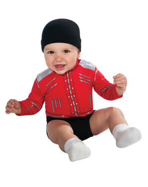 Fato de Michael Jackson Beat It para bebé