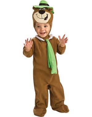 Costume da Orso Yogi deluxe per bambino