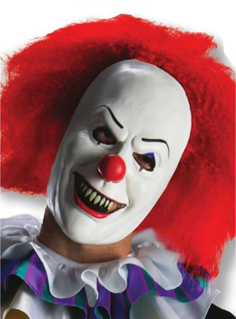 Pennywise It the Movie wig for an adult