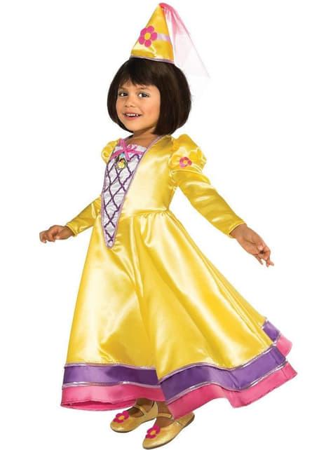 Märchenprinzessin Kostüm für Mädchen Dora die Entdeckerin